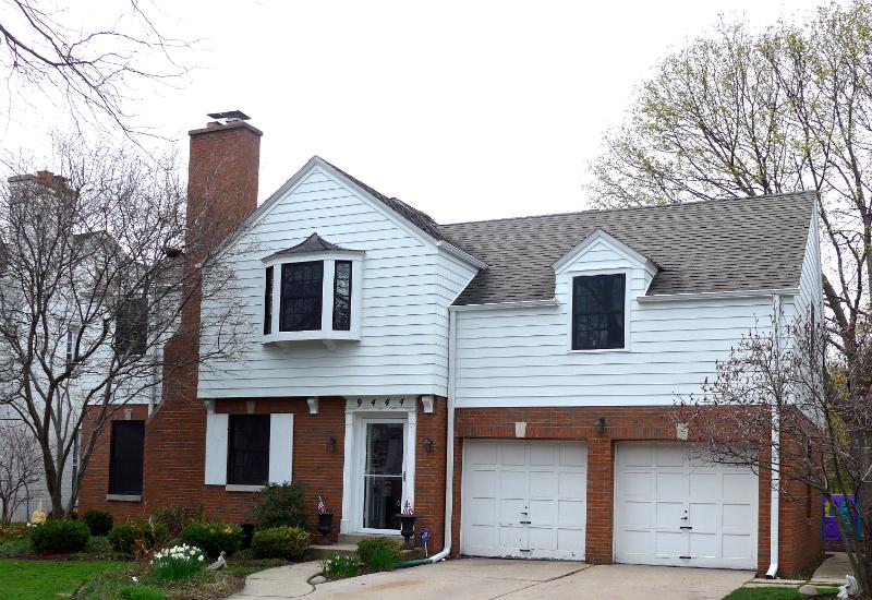 Evanston Style Home: James Hardie Select Cedarmill Lap Siding, IL