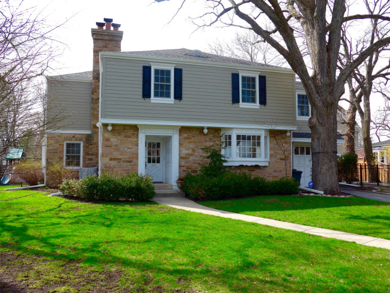Glendale home james hardieplank select cedarmill lap for James hardie exterior design center