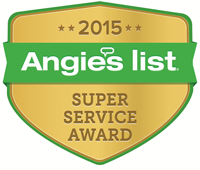 Angie's List 2015 Super Service Award Winner