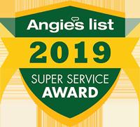 Angie's List 2019 Award Winner