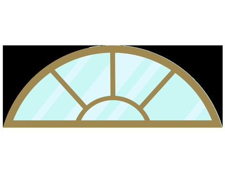 Half Round Windows