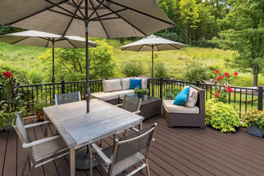 TimberTech decking in Chicago