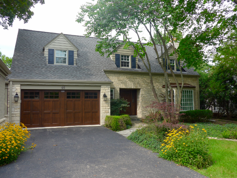 Golf Colonial Ranch Style Home, James Hardie Artisan
