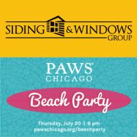 SWG Sponsoring PAWS Chicago's 15th Annual Beach Party