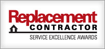Replacement Contractor Service Excellence Award