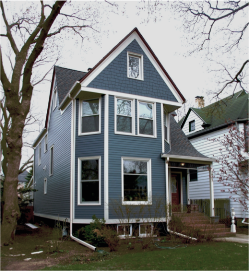 Victorian Style Home James Hardieplank Select Cedarmill