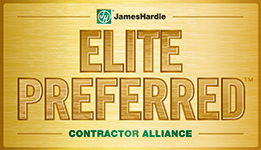James Hardie Elite Preferred Siding Contractor